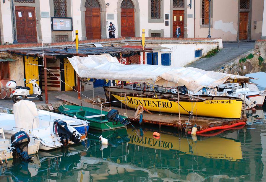 Livorno canals