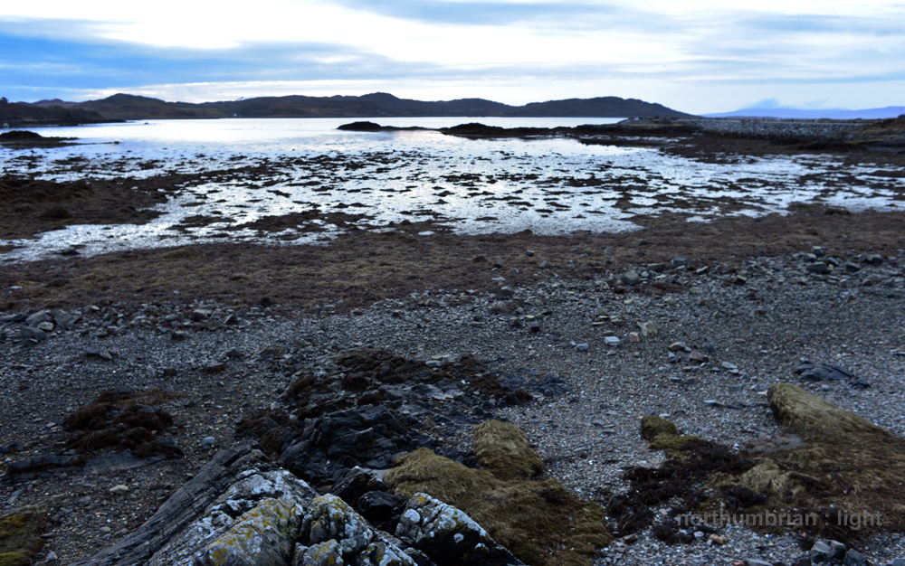 The end of the day - Arisaig