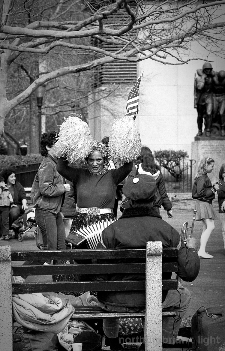 Battery Park Dancer