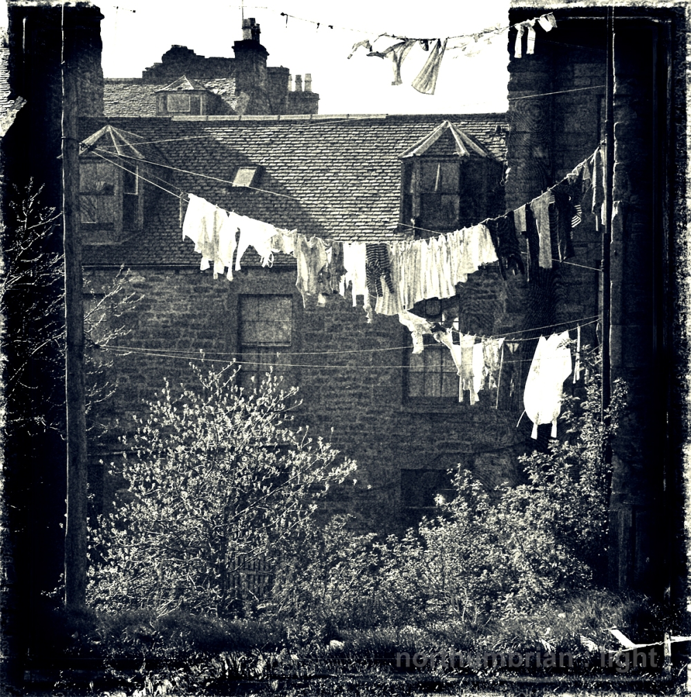 Dundee washing lines
