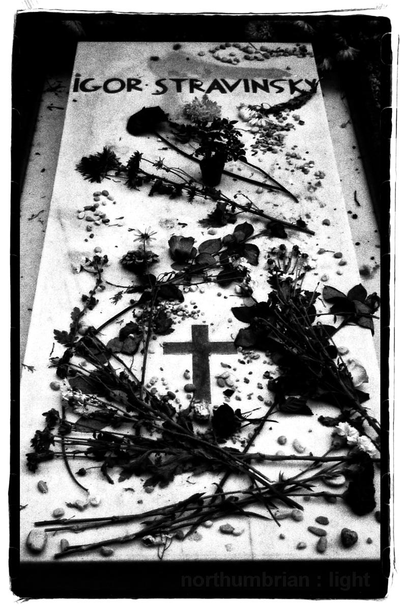 Stravinsky's Grave