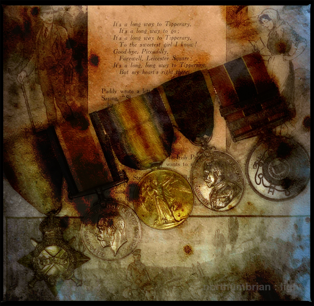 Fred's medals