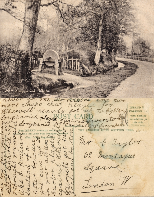 Longparish postcard