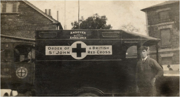 Andover's first Ambulance
