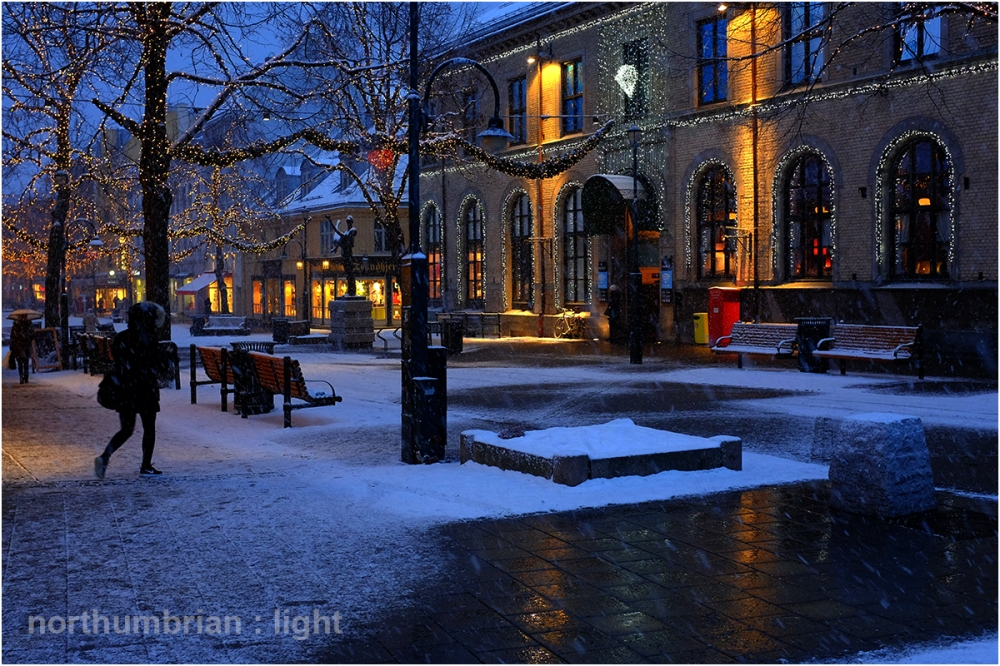 Trondheim in the snow ...