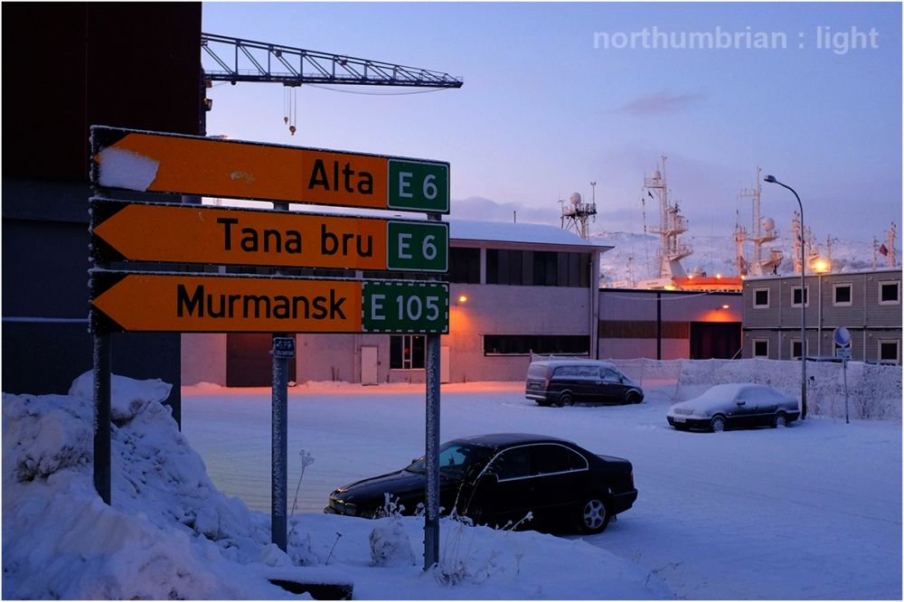 The road to Murmansk ...