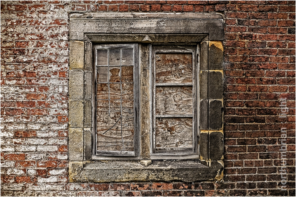 Boarded up ...