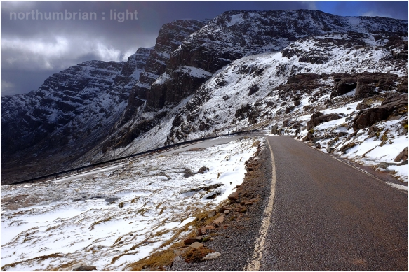 Above the snow line...