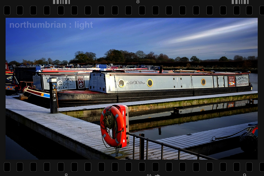 ... on a frosty morning at Overwater - no plans to leave the marina this week - the crew would mutiny.
