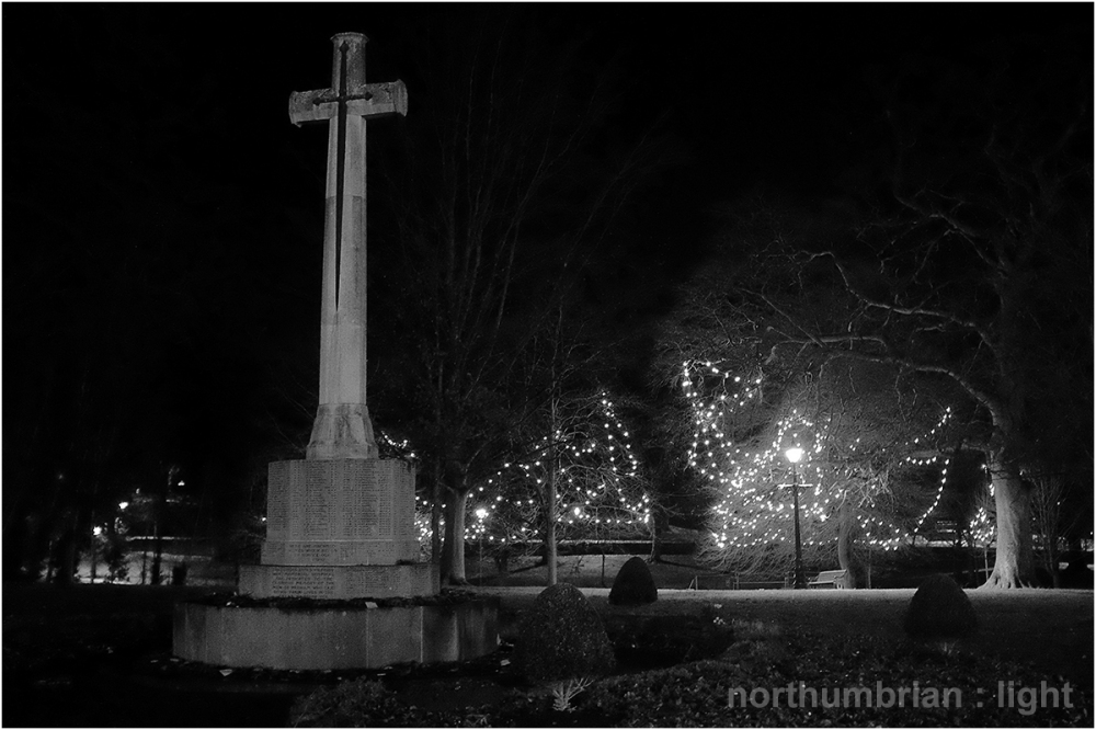 War memorial ...