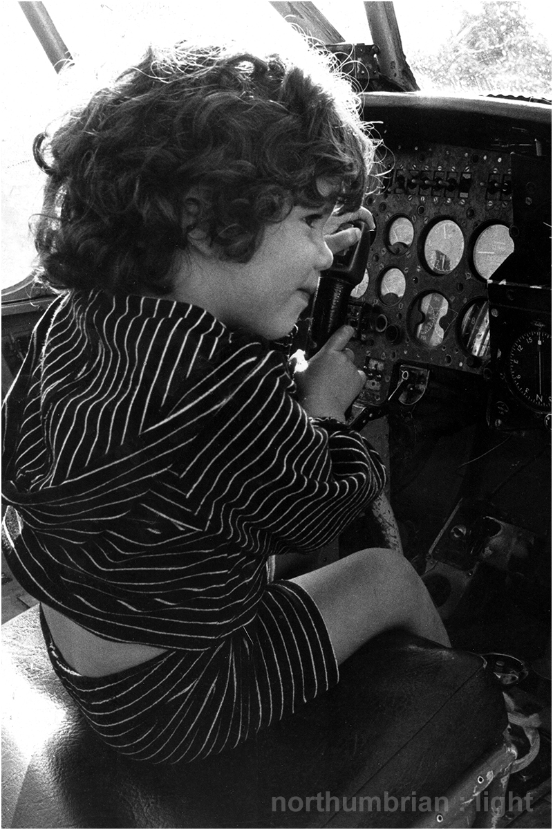 ... at the Helston Air Museum - early 1980s