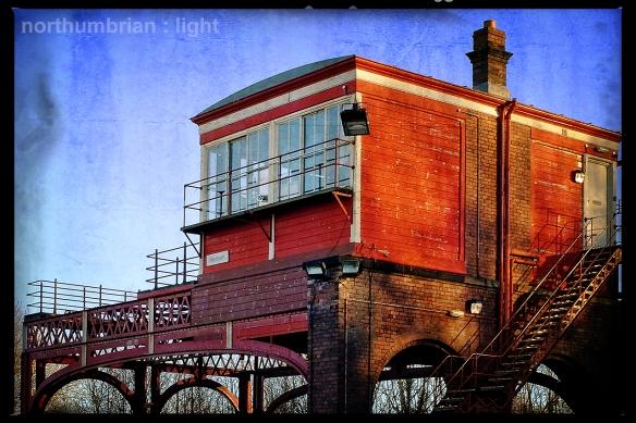 Hexham Signal Box ...