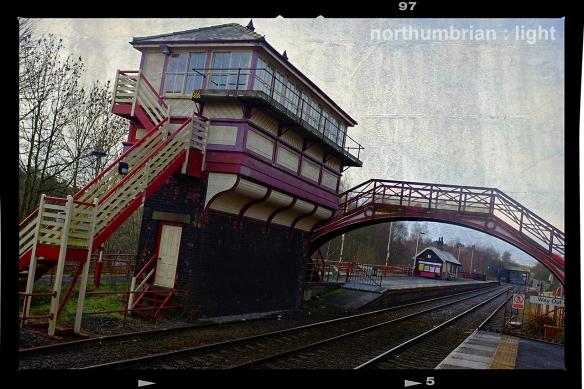 Haltwhistle Signal Box ...