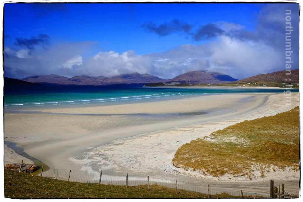 Towards Luskentyre ...