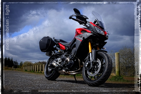 ... not into temptation. The dark side of Japan - Yamaha MT09 Tracer