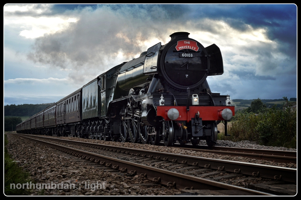 The Flying Scotsman ...