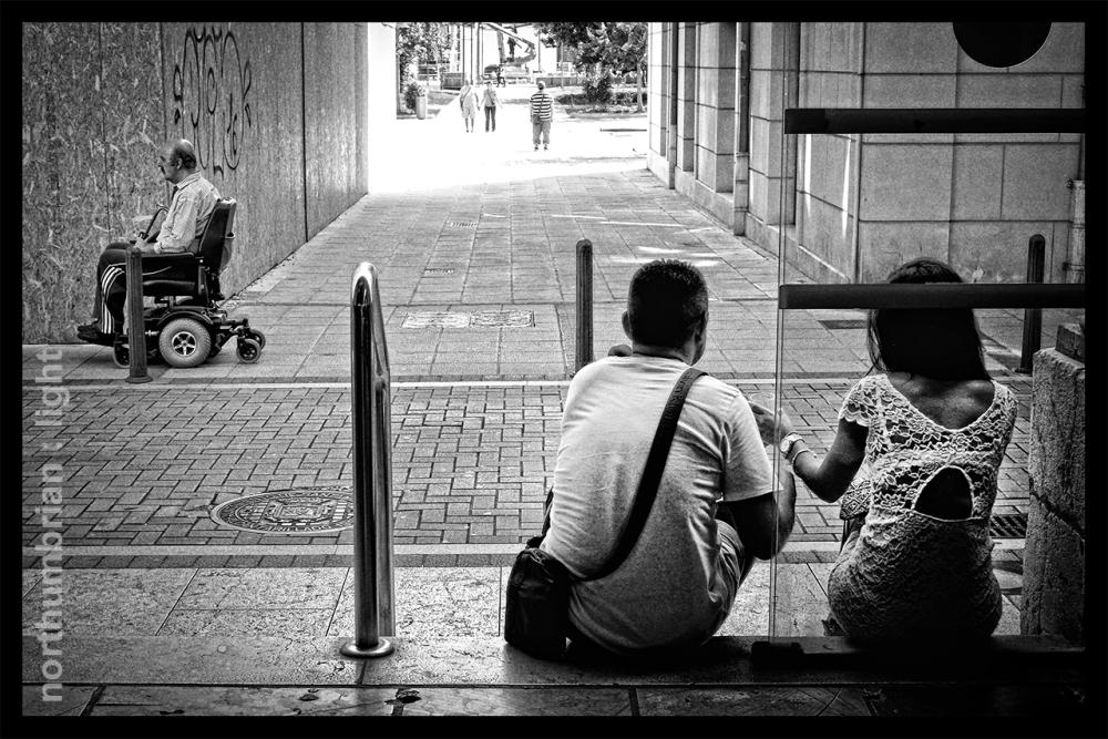 Street scene ...