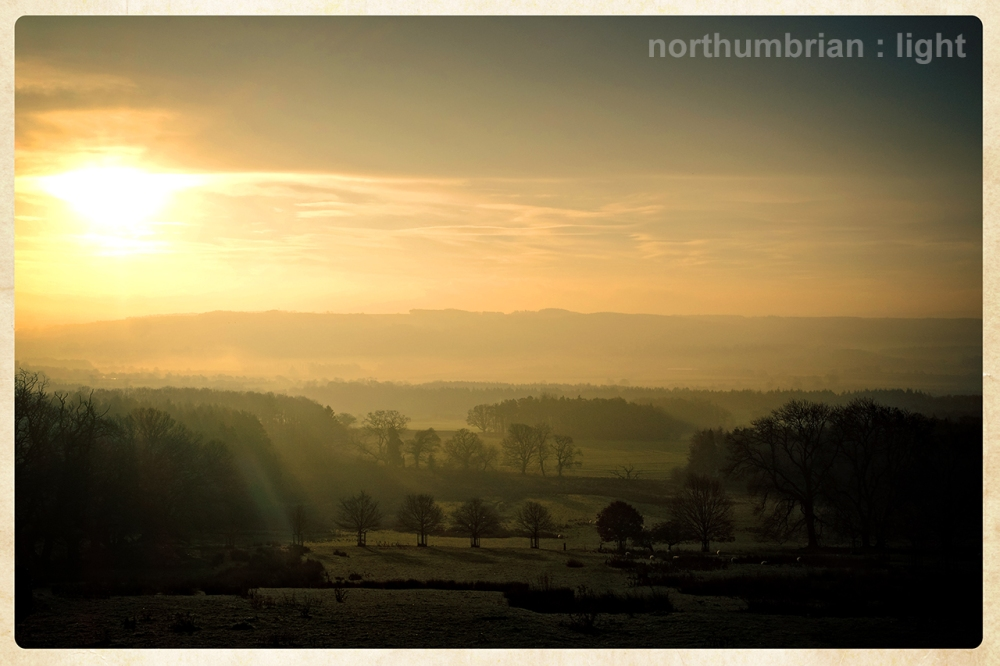 Across the Tyne Valley ...