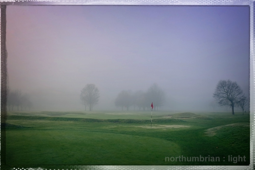 Fog on the Green ...