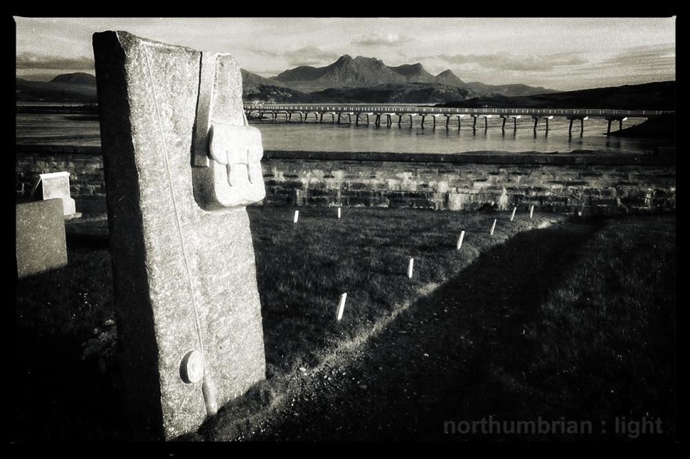 Melness graveyard ...